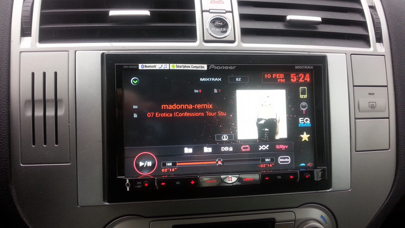forum ford kuga afficher le sujet autoradio pioneer double din install. Black Bedroom Furniture Sets. Home Design Ideas