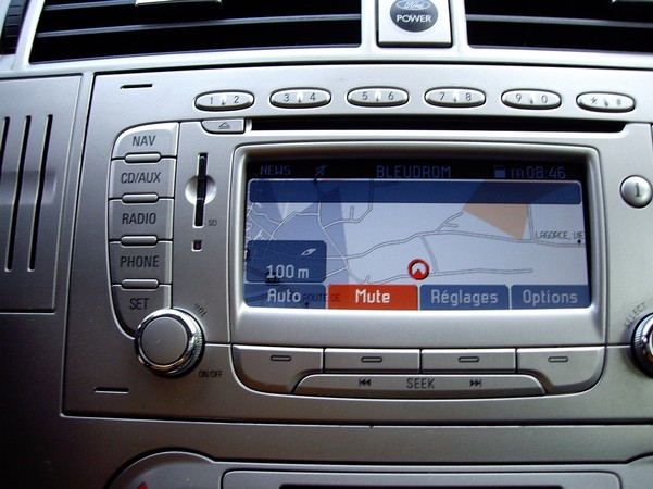 carte gps ford kuga