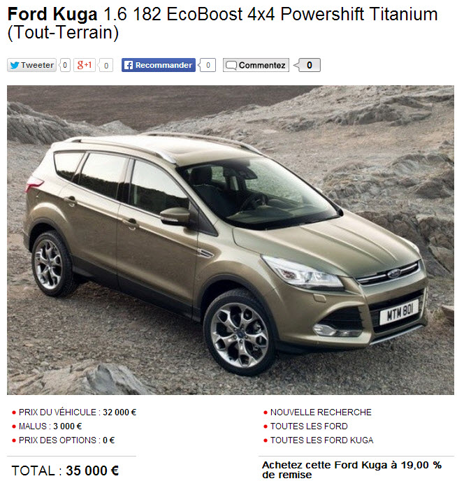 forum ford kuga afficher le sujet moteur essence ecoboost 182 cv. Black Bedroom Furniture Sets. Home Design Ideas
