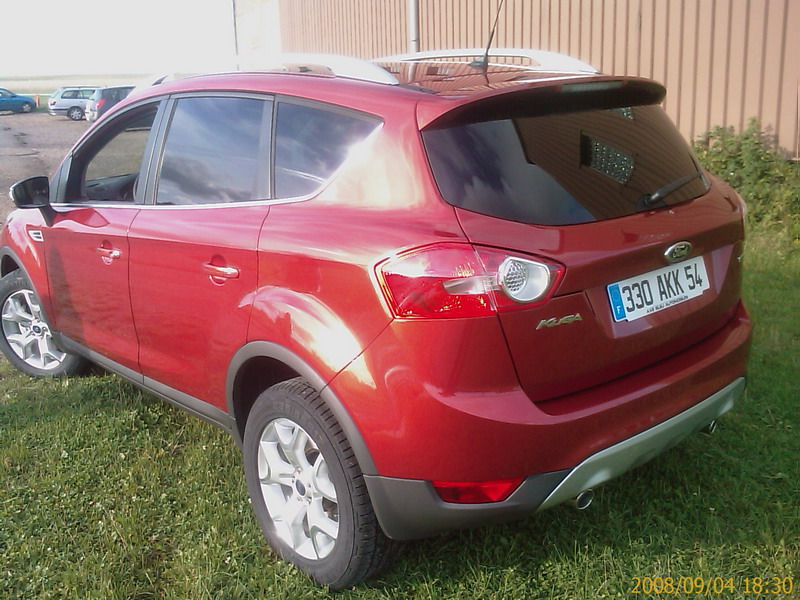 forum ford kuga afficher le sujet ford kuga rouge tango. Black Bedroom Furniture Sets. Home Design Ideas